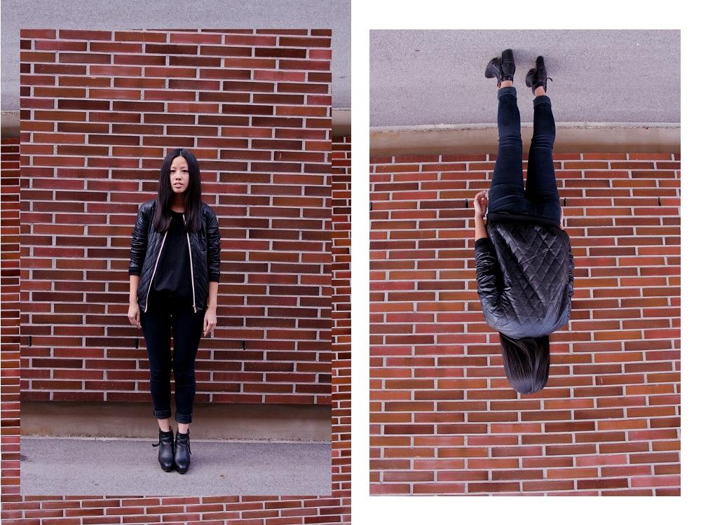 OOTD: Gesteppte C&A Blouson & Cheap Monday Jeans