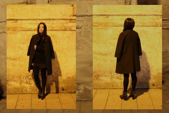 OOTD: ZARA Mantel / ZARA Coat