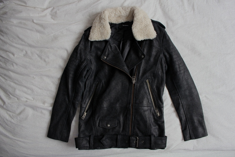NEW IN: The Kooples Leather Jacket