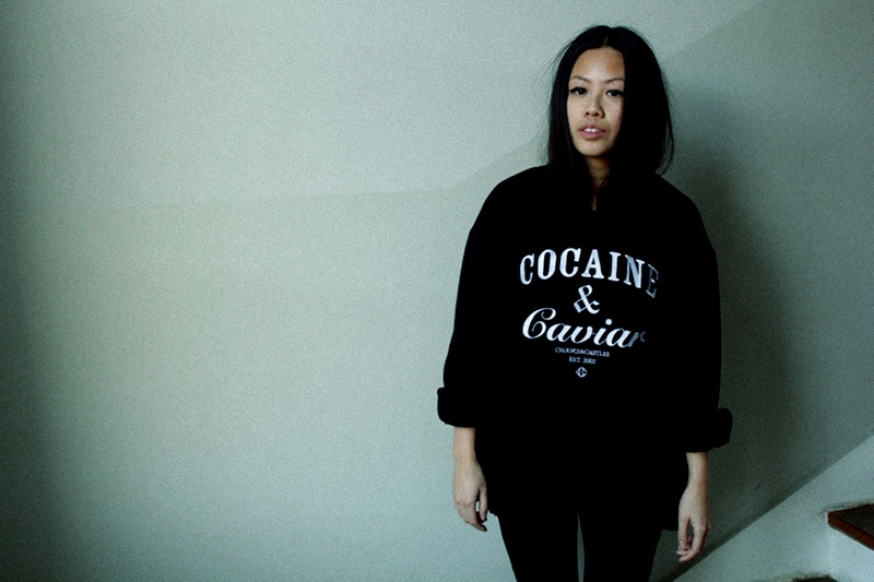 OOTD: MOMENTUM Headphones + Crooks&Castles 'Cocaine & Caviar' Sweater