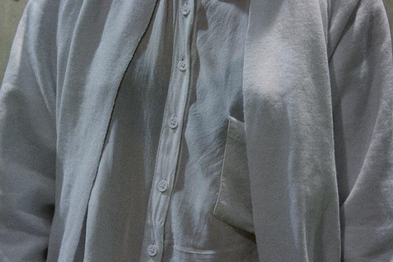 OOTD: DIY Sweater Cardigan + The Kooples Lederjacke