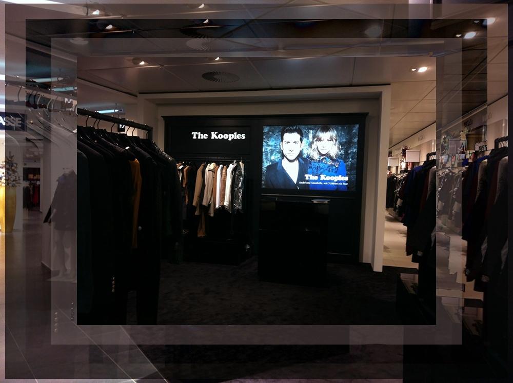 CITYTIPP: The Kooples & Sandro Stores iat Oberpollinger in Munich / München