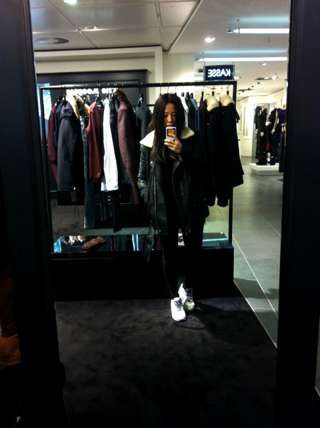 The Kooples & Sandro Stores at Oberpollinger in Munich