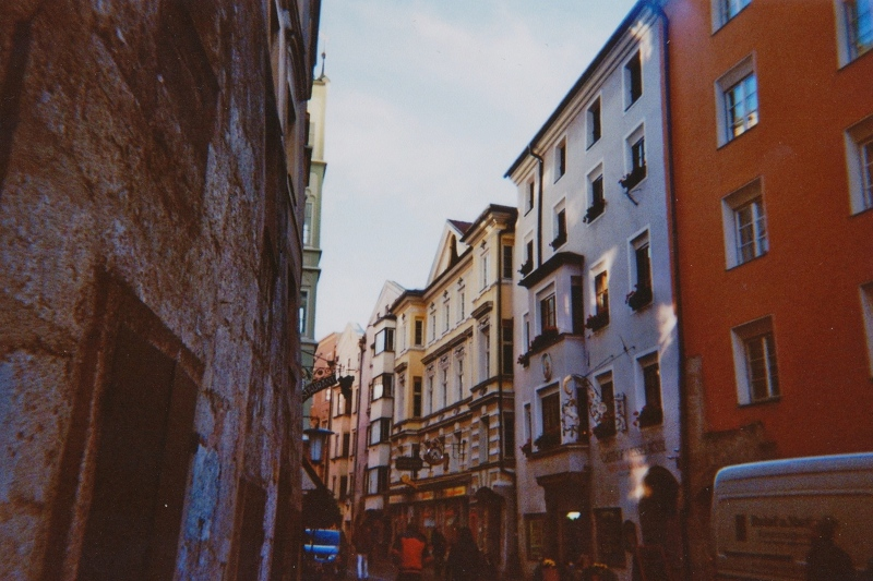ANALOG PHOTO DIARY: Innsbruck