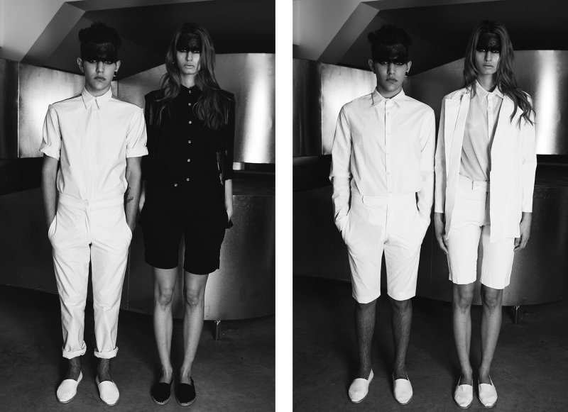 "Alice M. Huynh // ""5"" - S/S 14 Menswear Collection"