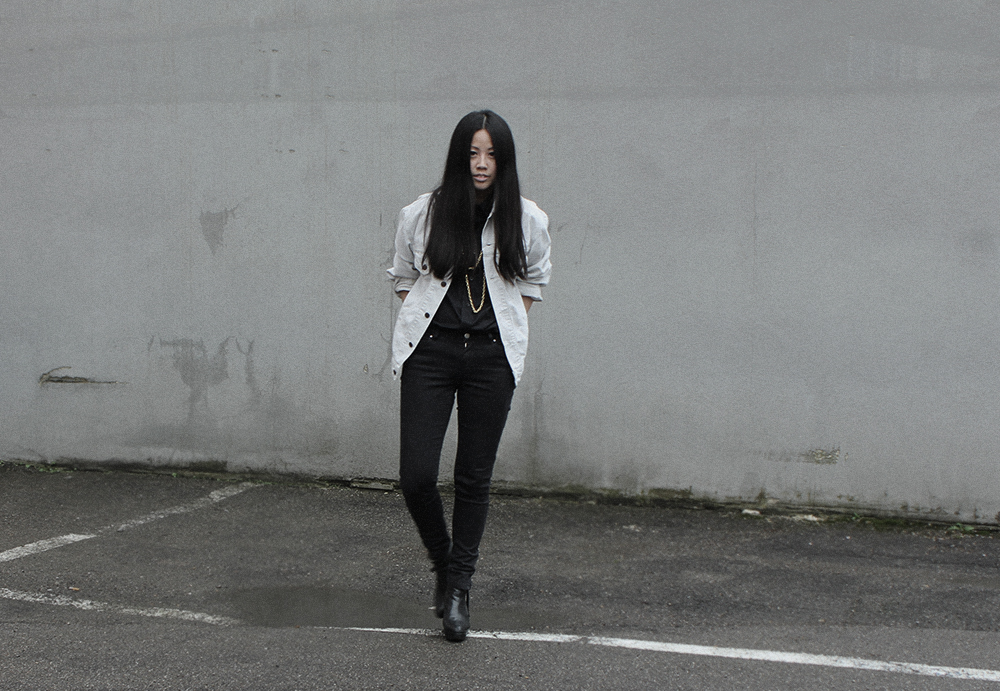 IHEARTALICE – Fashion & Travel-Blog by Alice M. Huynh from Germany: OOTD – Outfit of the Day wearing Vintage Levis Cord Jacket, Skinny jeans