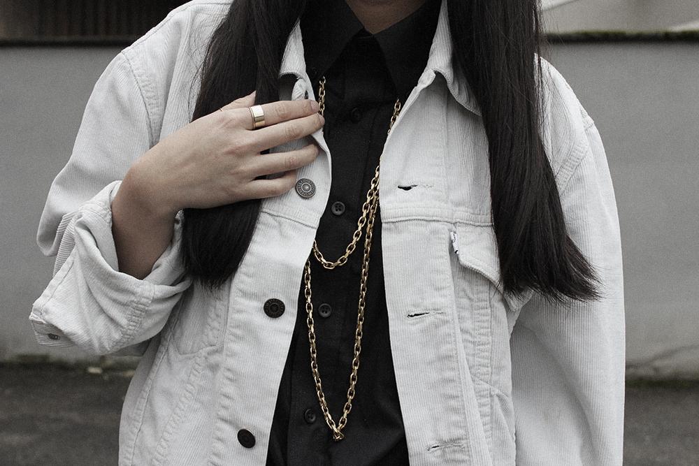 OOTD: Vintage Levis Cord Jacket