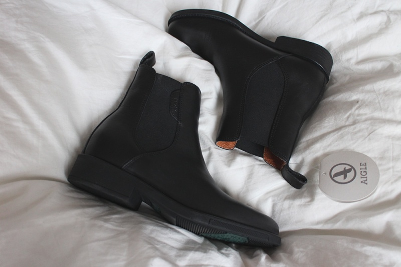 NEW IN: Aigle Leather Boots