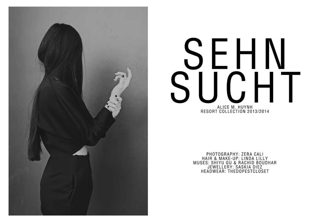 Alice M. Huynh – SEHNSUCHT Resort Collection 2013/2014