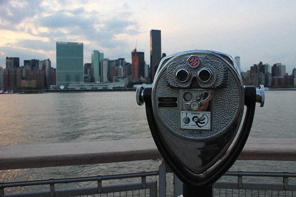 Der beste Ausblick über die Manhattan Skyline