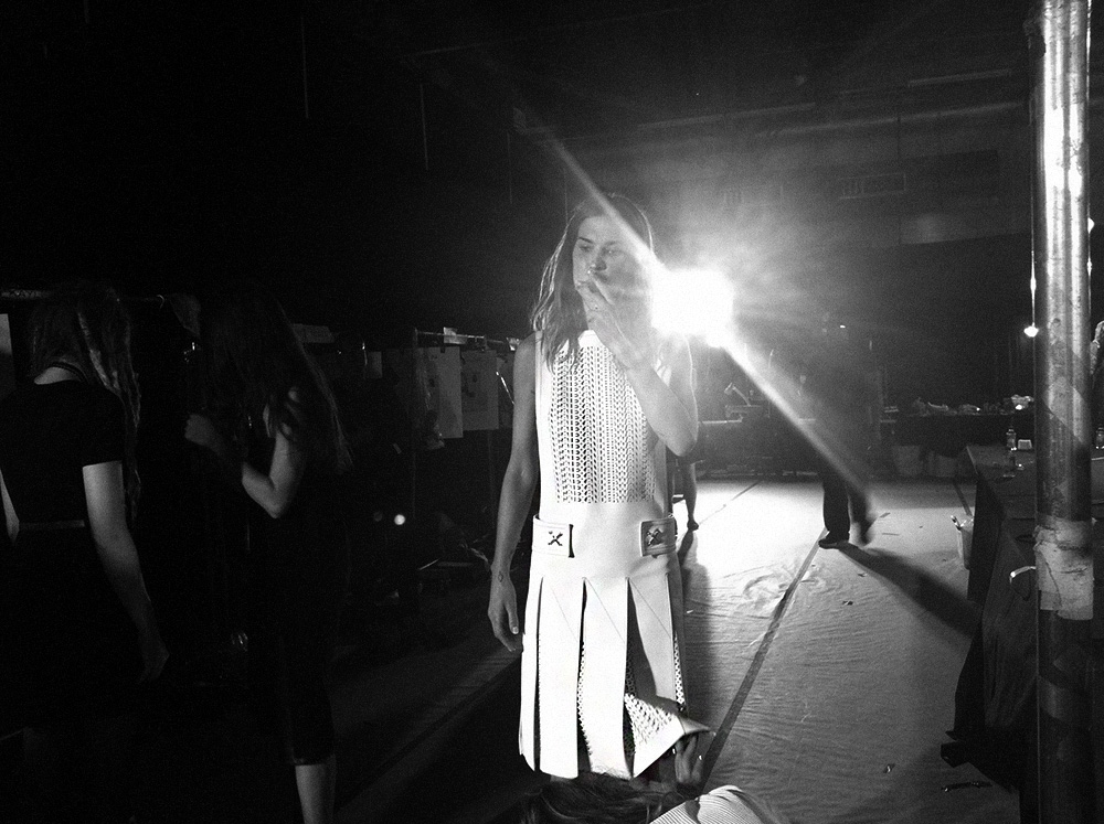 IHEARTALICE.DE – Travel, Lifestyle & Fashion-Blog from Berlin/Germany by Alice M. Huynh: Backstage Impressions of Alexander Wang Fashion Show in New York City - Spring/Summer 2014 Collection