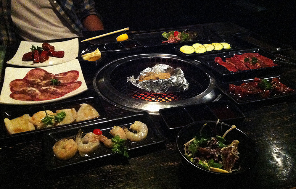 Japanisches BBQ im Gyu-kaku
