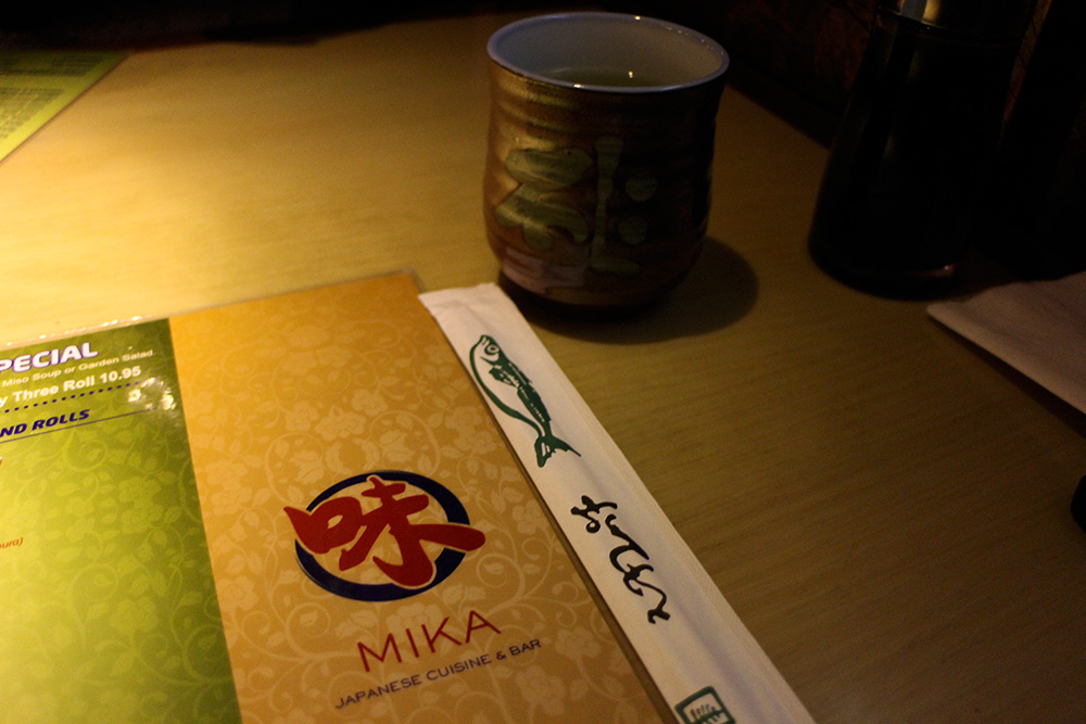 Mika Sushi Restaurant Review in NYC
