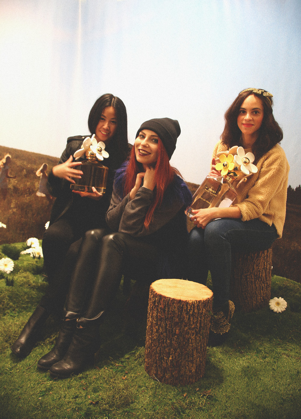 DAISY by MARC JACOBS Pop-Up Tweet-Shop in SoHo mit Masha Sedgwick, Alice M. Huynh & Les Berlinettes