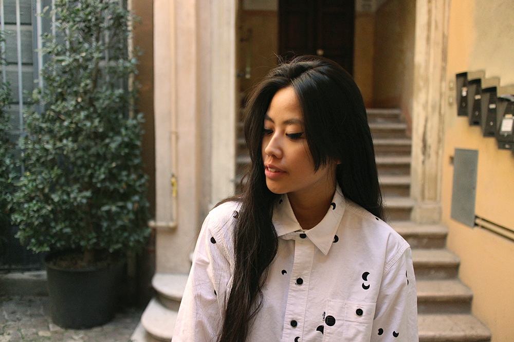 IHEARTALICE.DE – Fashion & Travel-Blog by Alice M. Huynh from Germany: All Black Everything Look wearing Levis Print Shirt