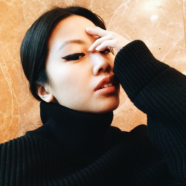 Margiela turtleneck & Astor