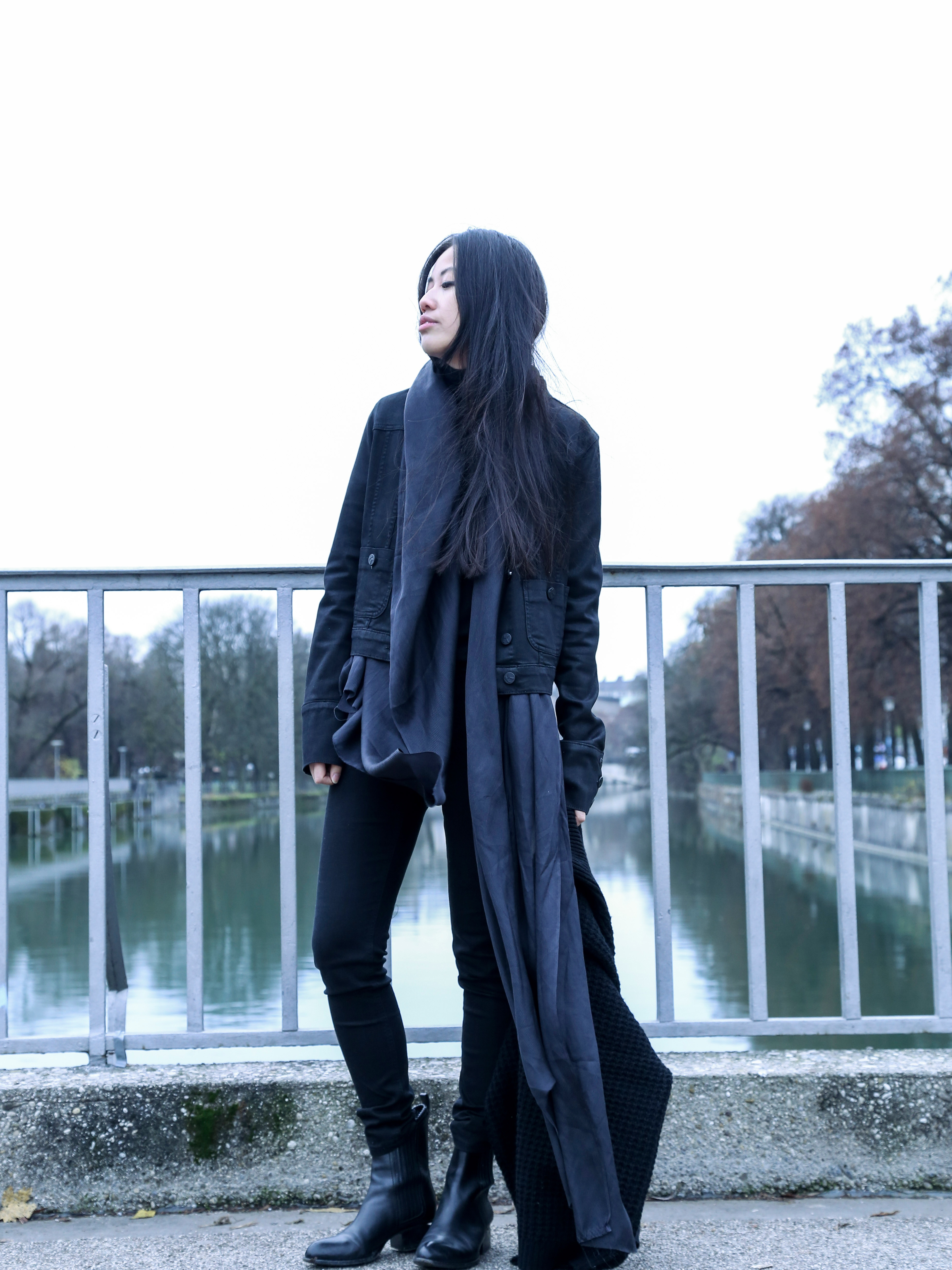 IHEARTALICE.DE – Fashion & Travel-Blog by Alice M. Huynh from Berlin/Germany: Karl Lagerfeld Jeans Jacket & Alexander Wang Boots / OOTD