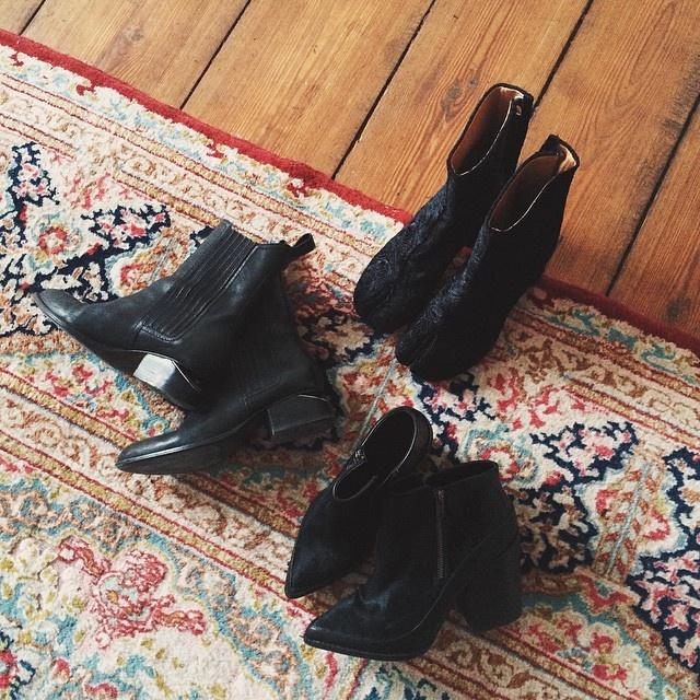 It's Fashion Week time! Welche Schuhe soll ich heute mal ausführen?