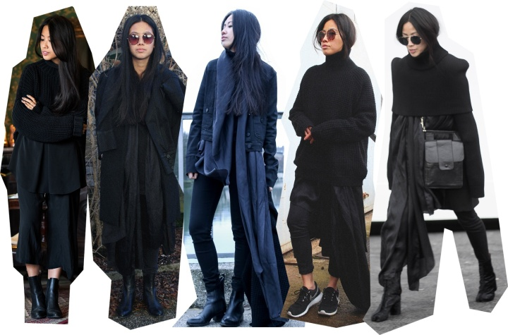 IHEARTALICE Looks of January 2015, Karl Lagerfeld, Nike Roshe run, maison martin margiela, Alexander Wang