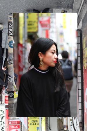 Looks of IheartAlice: Turtleneck Dress & Acne Studios Skinny Jeans