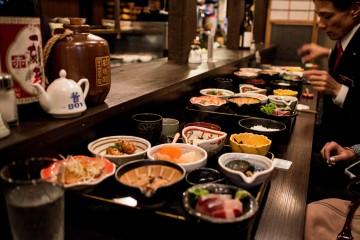 Traditional Obanzai Lunch at Mimasuya Okudohan in Kyoto / Japan