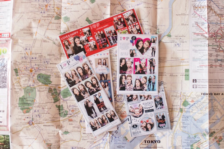 Japan Travel Diary: Purikura - Japanese Photo-booths