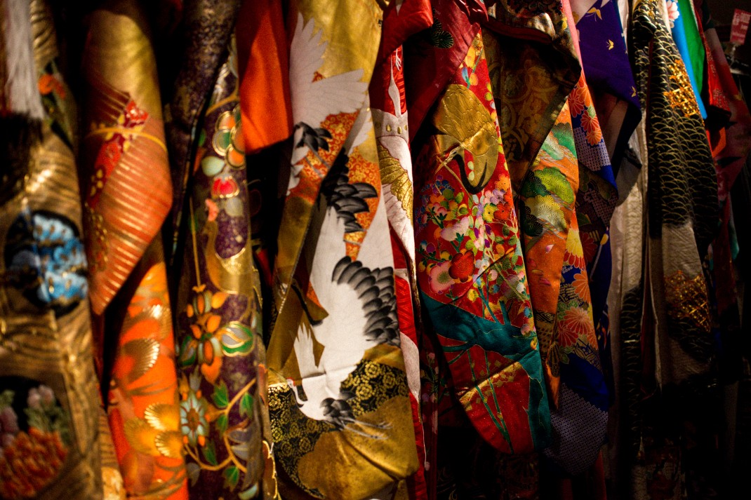 Buy used Vintage / Used Kimonos in Kyoto / Japan