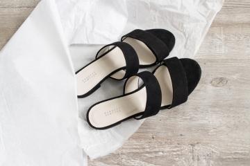 LA Shopping Haul: Barneys New York: Amalfi Suede Sandals