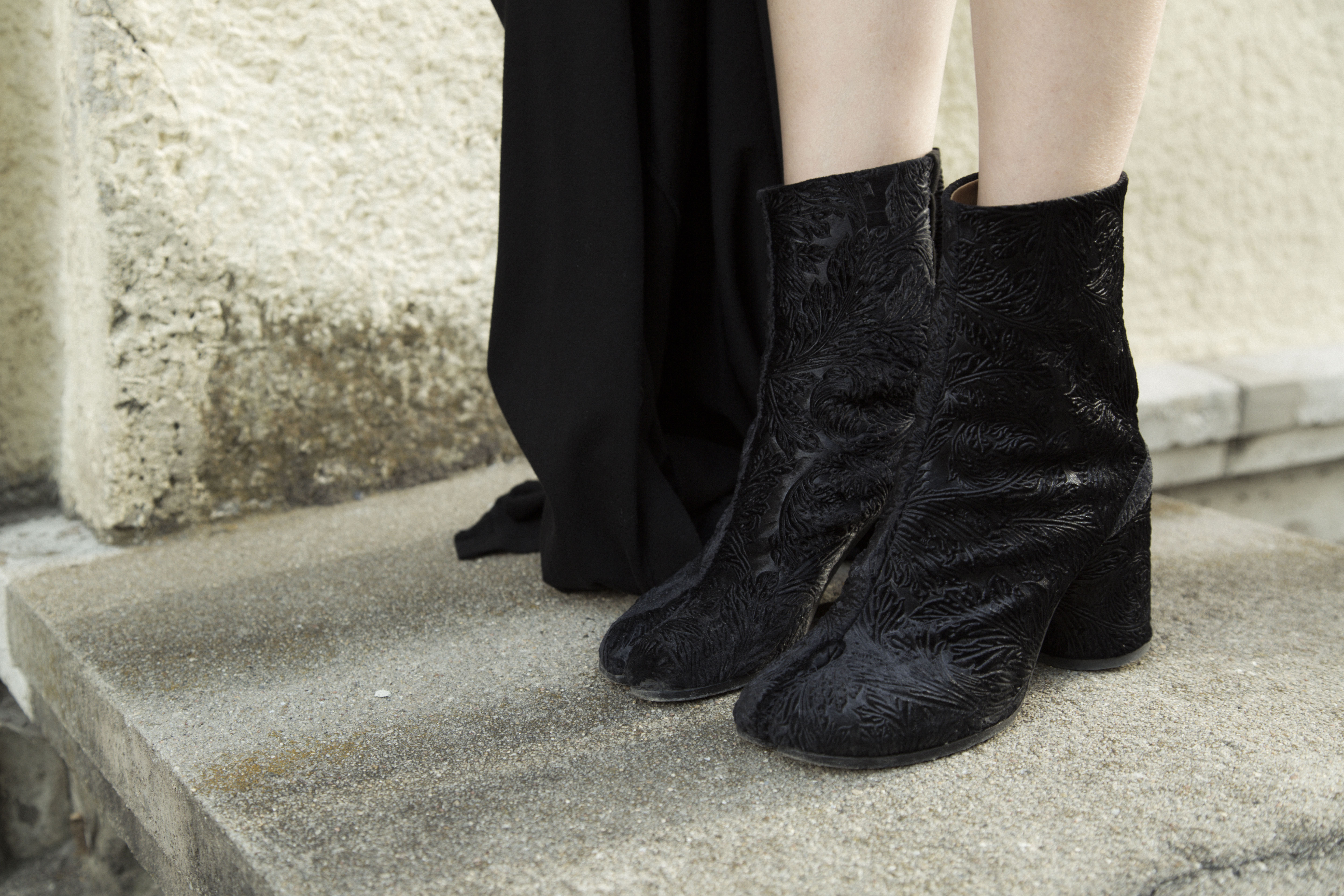 I heart Alice / Looks of Alice: Black Maison Martin Margiela Tabi Boots