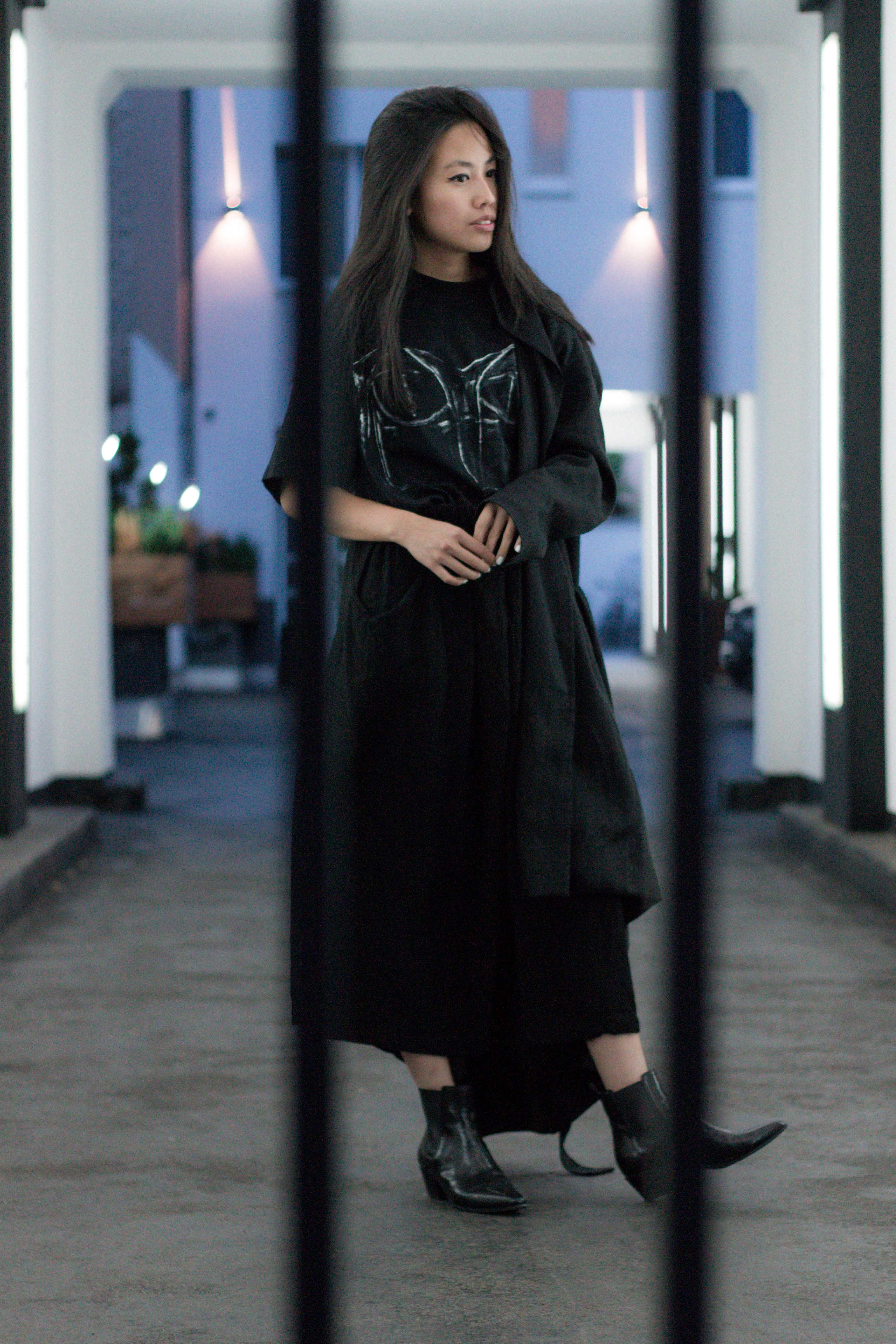 I HEART ALICE - Fashionblog from Berlin, Germany: Alice M. Huynh wearing Yohji Yamamoto, Maison Martin Margiela, All Saints, Saint Laurent Paris during Fashion Week Berlin