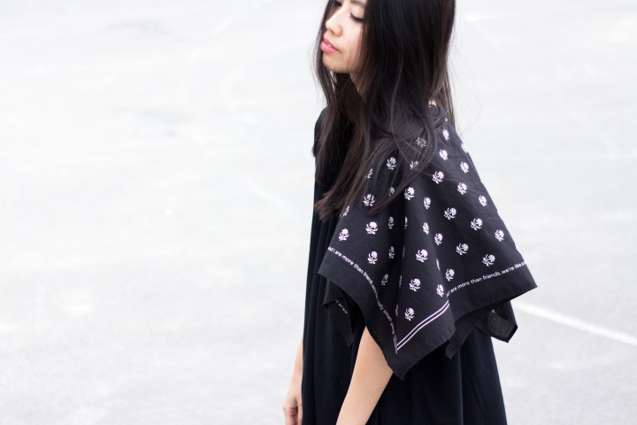 "IHEARTALICE – Fashion & Travel Blog from Berlin/Germany by Alice M. Huynh: MM6 by Maison Margiela ""Bandana""-Foulard Jersey Shirt"