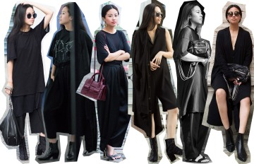 I HEART ALICE – Fashion and Travelblog from Berlin / Germany by Alice M. Huynh: Outfit Review of July 2015 wearing Emporio Armani, Yohji Yamamoto, Saint Laurent Paris. Maison Margiela, Alexander Wang...