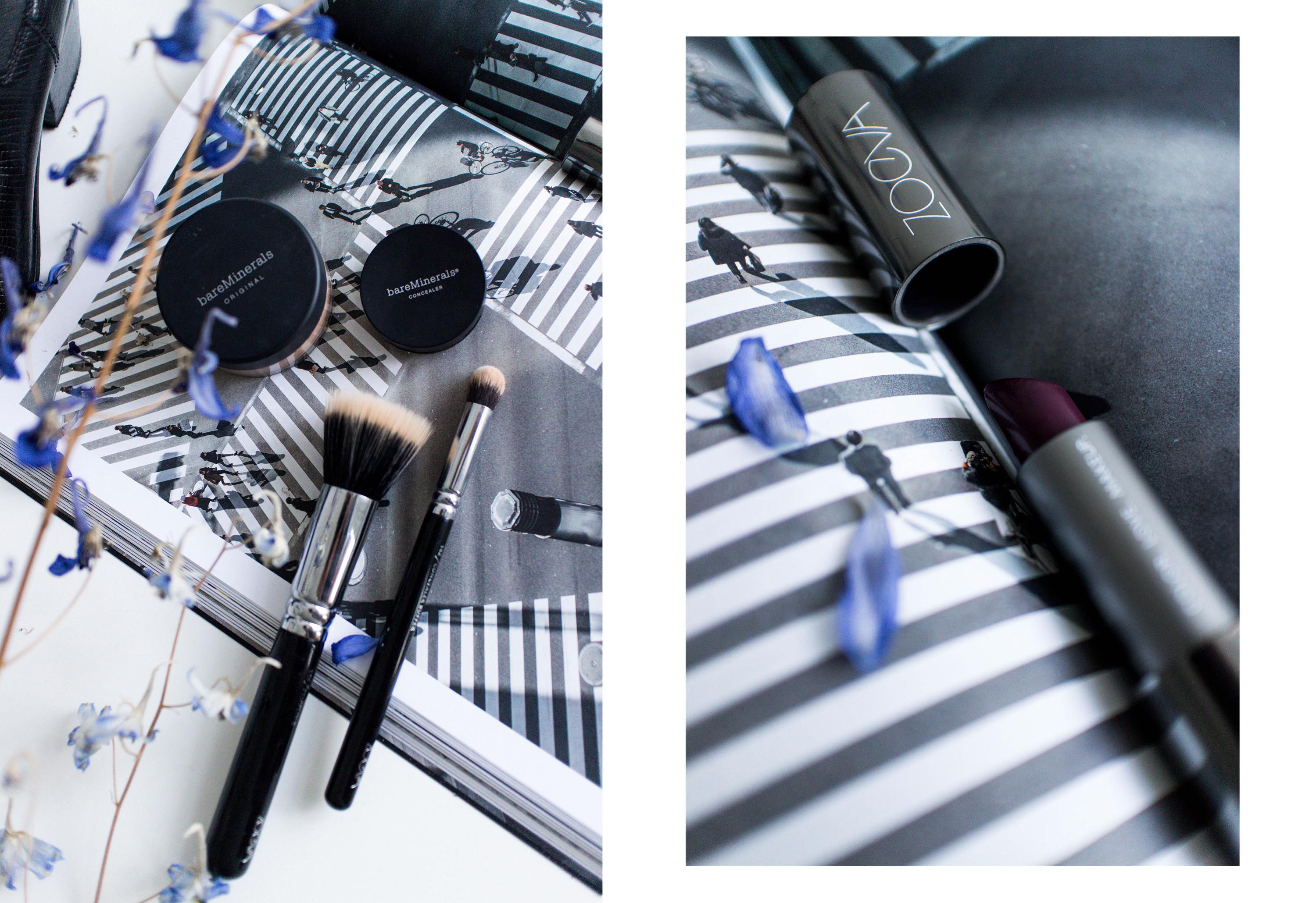 IHEARTALICE – Fashion and Travel Blog from Berlin/Germany by Alice M. Huynh: bareMinerals Concealer & Powder, ZOEVA Brushes & Lipstick