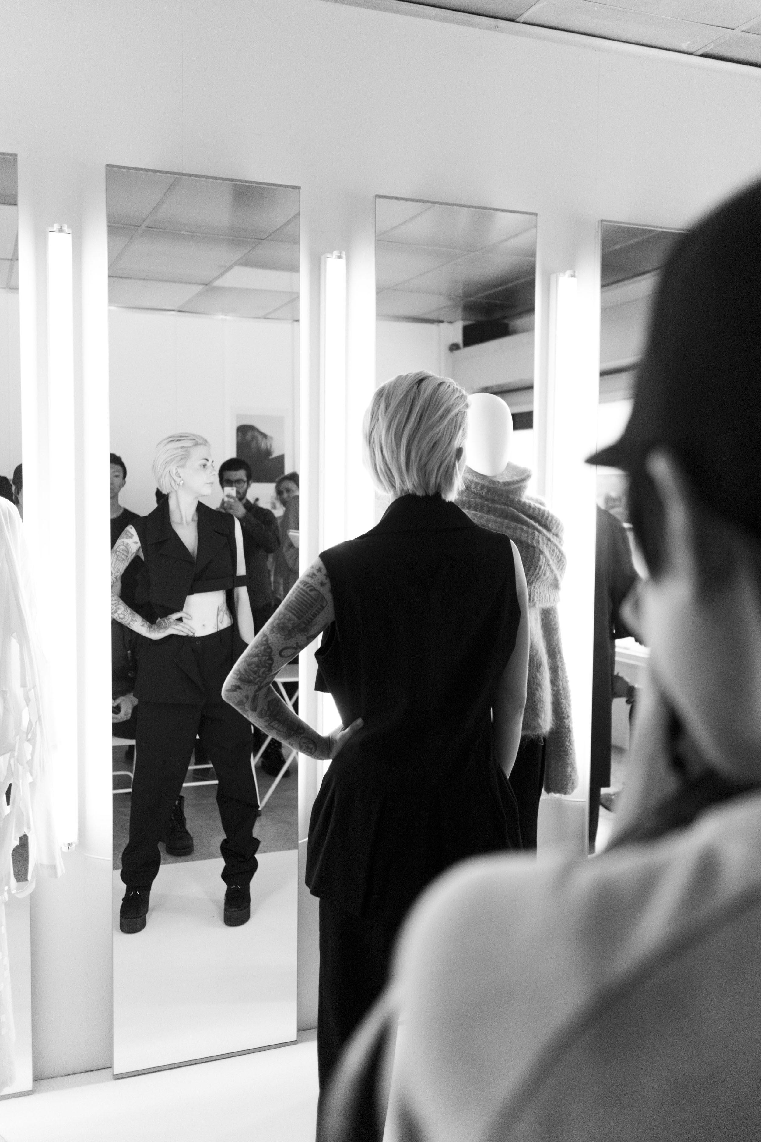 IHEARTALICE – Fashion & Travel Blog by Alice M. Huynh: London Travel Diary – Yohji Yamamoto Showspace