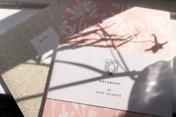 IHEARTALICE – Fashion & Travel Blog from Berlin/Germany by Alice M. Huynh: The Aivy League – Stationary, Gift Wrapping, Notebooks / The Spring Blossom Collection