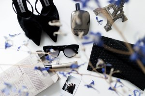 IHEARTALICE – Travel, Lifestyle & Fashion Blog from Berlin/Germany by Alice M. Huynh: Waht's in my Bag? – Paris! rocco by Rodenstock shades, Comme des Garcons Wonderwood Fragrance, MM6 Bubble Clutch, Sensilis Eye Cream, Manolo Blahnik Pumps