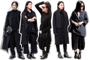 IHEARTALICE – Travel, Lifestyle & Fashion-Blog from Berlin/germany by Alice M. Huynh: All black everything fashionblogger Alice M. Huynh wearing Maison Martin Margiela Woll Coat, Weekday Turtleneck, Rodenstock Shades, Acne Studios Jeans, Carven leather Circular Bag, All Saints Trenchcoat, Margiela T-Shirt, COS Silk Pants, Odeeh Pinstripe Trousers, Odeeh Blouse, Alice M. Huynh Oversize est, Vintage Cashmere Turtleneck, Saint Laurent Paris Black Lizard Stamped Leather Boots, &OtherStories Leather Bag, Alexander Wang Leather Brenda Chain Bag.