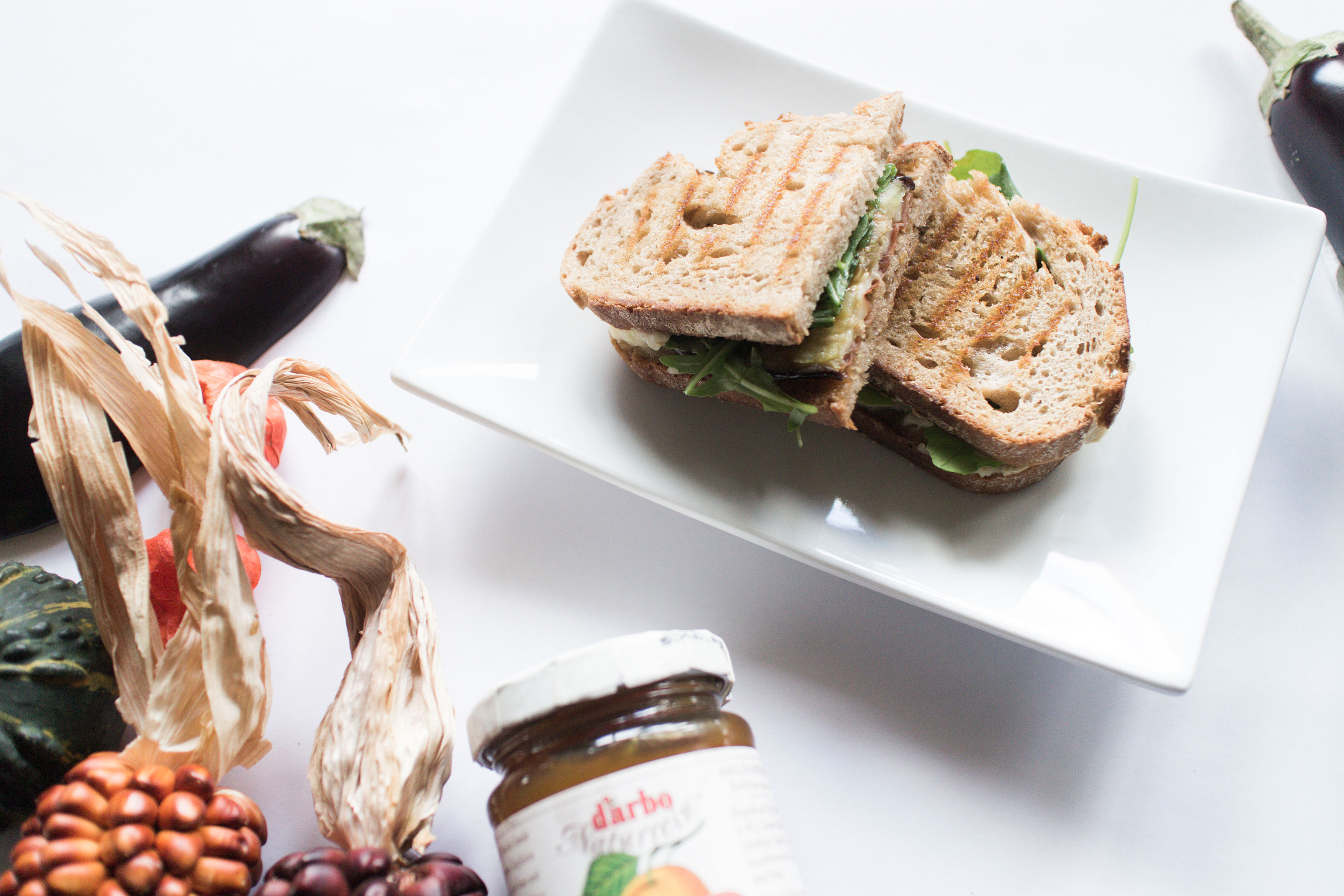 IHEARTALICE – Fashion, Travel, Lifestyle & Food Blog from Berlin/Germany by Alice M. Huynh: Grilled Cheese Sandwich with Eggplant by Yvi Huynh / Food Friday
