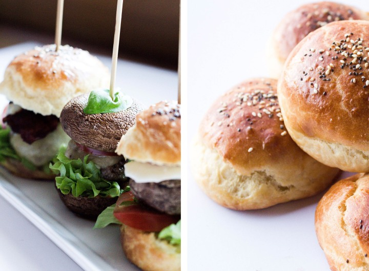 IHEARTALICE.DE – Fashion, Travel, Lifestyle & Food-Blog by Alice M. Huynh from Berlin/Germany: Dreierlei Mini-Burger: Klassischer Burger, Low Carb Pilz Burger, Veggie Burger & Selbstgemachte Brioche Burger-Brötchen / Rezept by Yvi Huynh