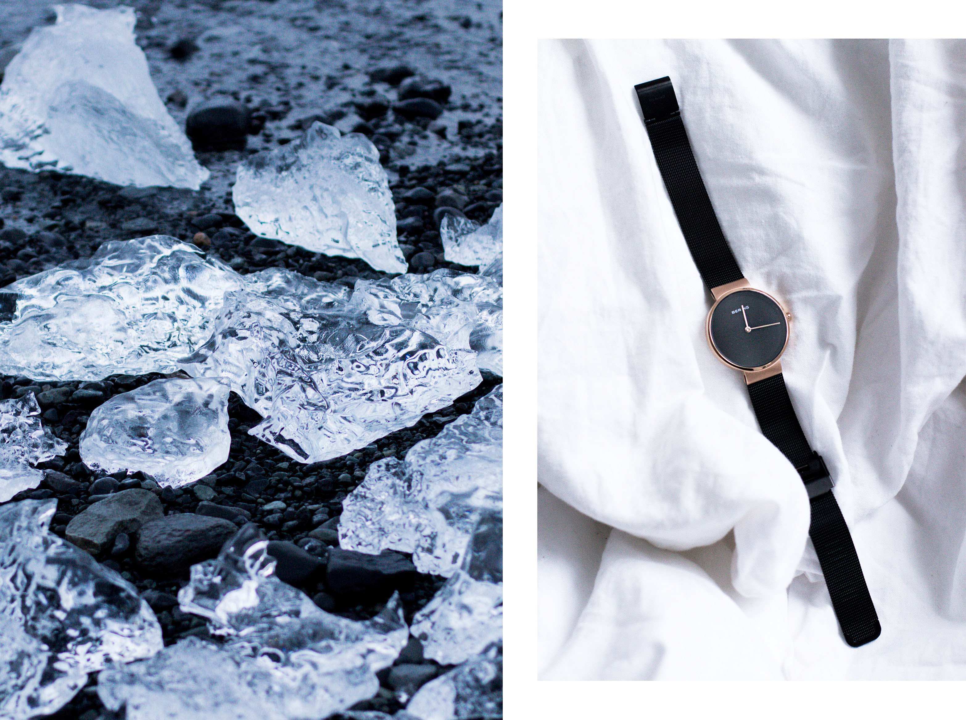 IHEARTALICE.DE – Fashion, Lifestyle & Travel-Diary by Alice M. Huynh from Berlin/Germany: Iceland Travel Diary / BERING Watch & Glacier Ice at Jökusarlon